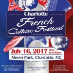French Culture Festival Nevin Community Park Charlotte July 16th, Great food, wine, crpees, music, dance, and petanque initiation and tournament.